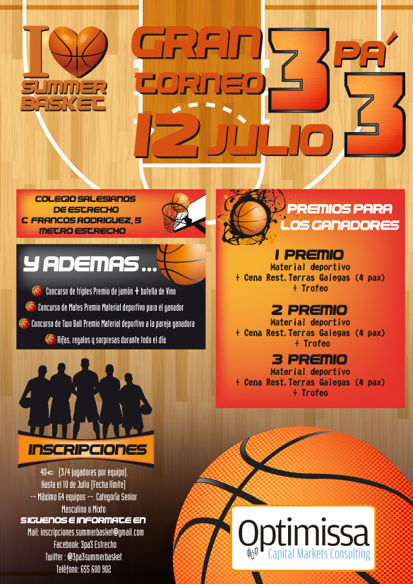 Torneo 3pa3 Optimissa